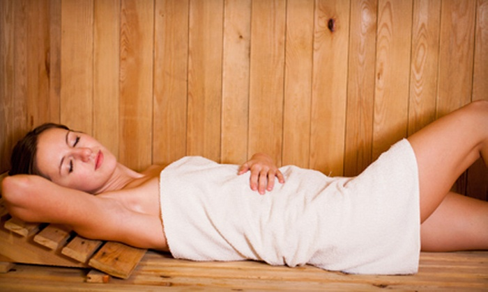 The Spa - Northview: 5 or 10 Infrared-Sauna Sessions or Ionic Detoxifying Footbaths at The Spa (Up to 62% Off)