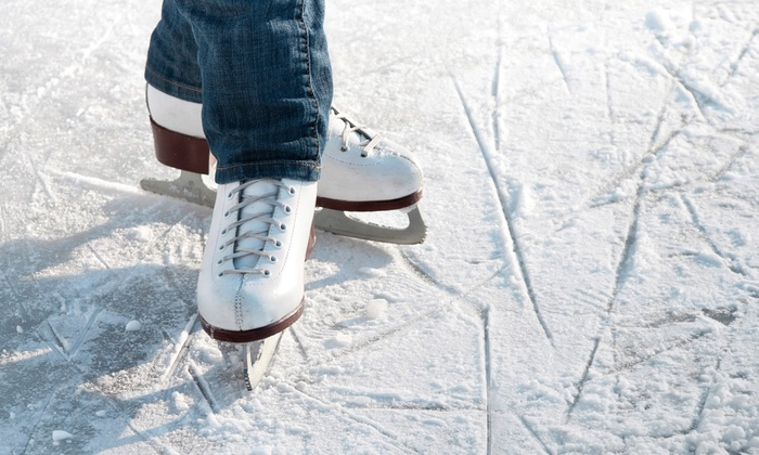 Floyd Hall Arena - Little Falls: Ice-Skating for Two, Four, or Six with Skate Rental, Popcorn, and Hot Chocolate at Floyd Hall Arena (Up to 60% Off)