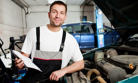 54-Point Car Service, Oil and Filter Change and Air-Con Re-Gas or Wheel Alignment at KAM Servicing - Ambergate (69% Off)