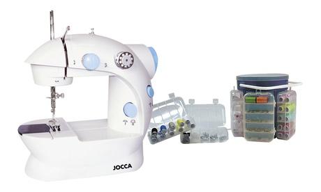 Máquina de coser o Kit de costura Jocca de 138 piezas