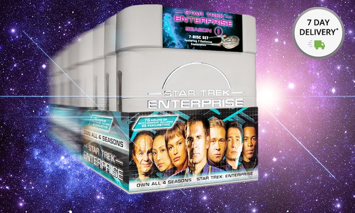 Star Trek: Enterprise Complete Series DVD Box Set: Star Trek: Enterprise Complete Series DVD Box Set. 7-Day Delivery. Free Shipping and Returns.