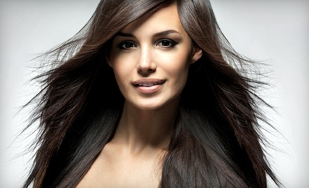 Cut with Conditioning Treatment, One-Process Color, or Full Highlights by Christine Lord @ Studio 205 (67% Off)