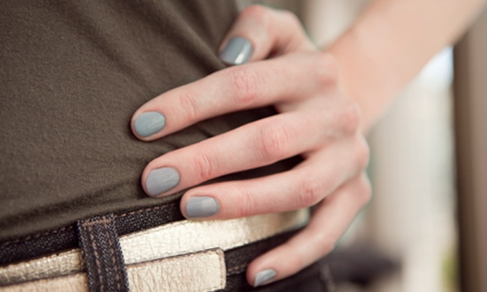 Hair Studio & Day Spa - Sunset Hills: One or Three OPI Gel Manicures at Hair Studio & Day Spa (Up to 54% Off)