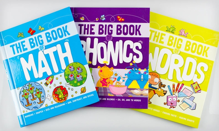 """""""Big Book of"""" Children's Book Set: $19 for Three Educational Children's Books ($47.85 List Price). Free Shipping."""