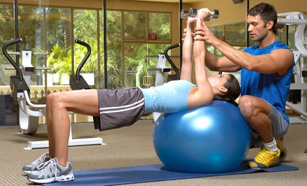 Gym Package with 30-Day Membership and Option for Personal Training at Fitness First Health Club (Up to 55% Off)