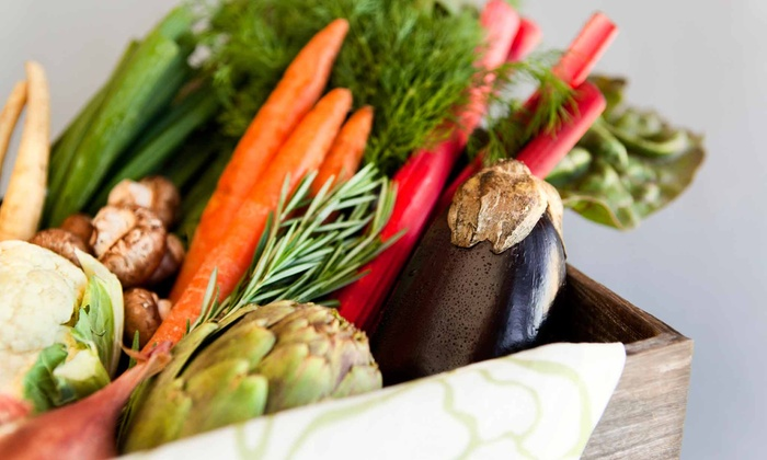 Milk Creek Produce - Mulino: Groceries at Milk Creek Produce (Half Off). Two Options Available.