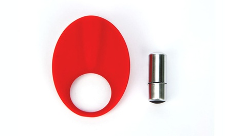 TLC Caliber Vibrating Silicone C-Ring
