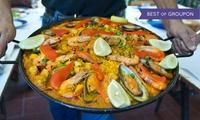 3-Gänge-Paella-Menü für zwei oder vier Personen bei Bodega Los Gitanos (46% sparen*)