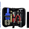 Deluxe Watch Repair Tool Kit with Carrying Case Plus Batteries