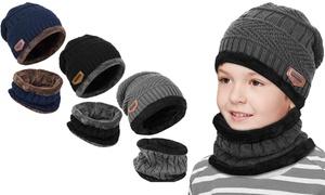 Set bonnet écharpe enfant unisexe