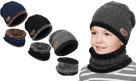 1 o 2 sets de gorro y bufanda para niños