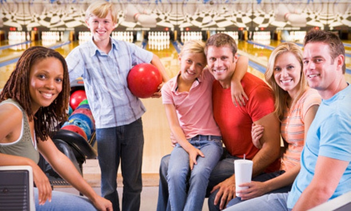 Village Lanes - Howard: Two Games of Bowling for Five with Optional Pizza and Soda at Village Lanes (Up to 52% Off)