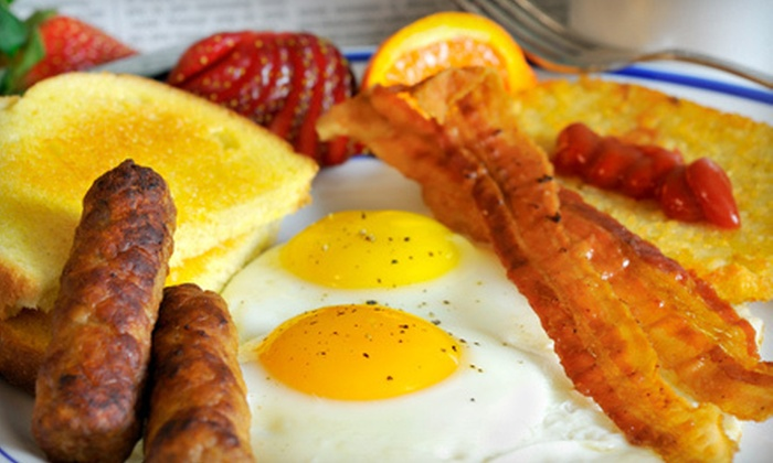 Bistro 1902 - Downtown Hollywood: $29 for Brunch for Two with Entrees, Sides, and Unlimited Mimosas at Bistro 1902 (Up to $67.80 Value)