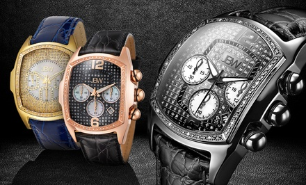 JBW Men's Caesar Diamond Watches. Multiple Styles Available.