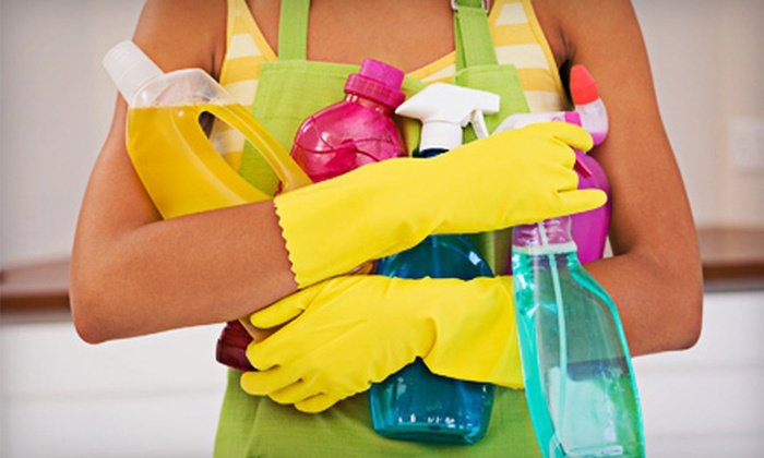 Clean & Green, Inc. - Multiple Locations: One or Two Three-Man-Hour Housecleaning Sessions from Clean & Green, Inc. (Up to 52% Off)
