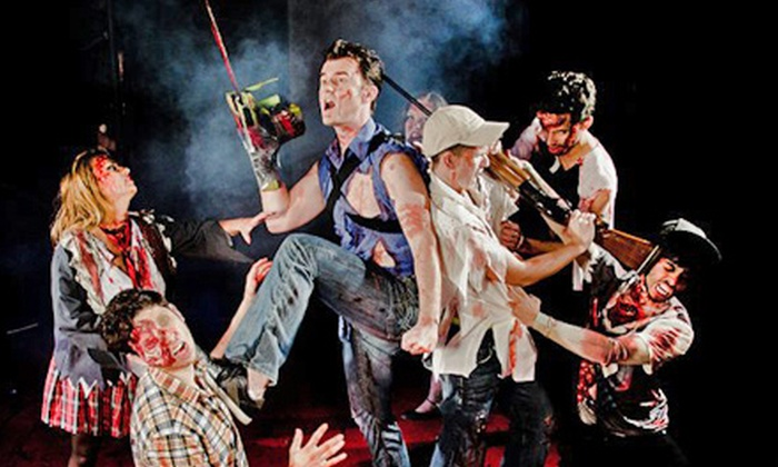 """Evil Dead: The Musical"" - Cameo Theatre: ""Evil Dead: The Musical"" at Cameo Theatre on October 12–November 2 (Up to 42% Off)"