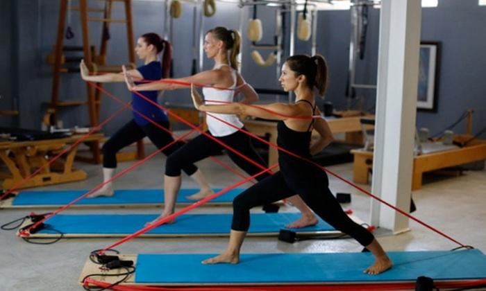 Pilates Studio City - Studio City: Five Group Pilates and Fitness Classes or Da Vinci BodyBoard Classes at Pilates Studio City (Up to 46% Off)