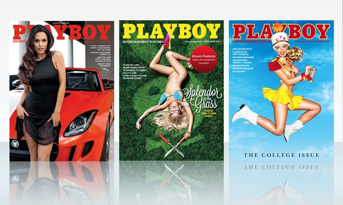 Playboy Magazine Groupon Goods