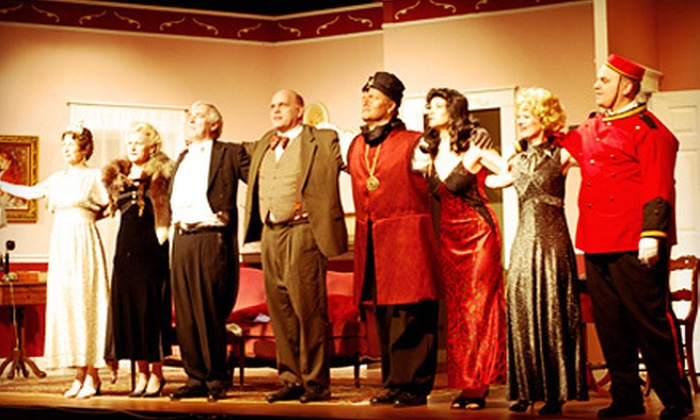"""Class Act Dinner Theatre - LIVEact Event Centre: $57 for """"Mama Won't Fly"""" Dinner and Show for Two at Class Act Dinner Theatre (Up to $130 Value)"""