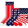 K. Bell Women's Americana Socks for Sizes 9–11 (4-Pair Pack)