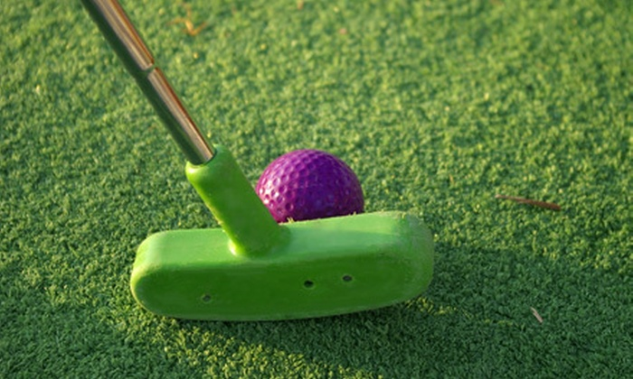 Blackbob Batting Cages and Miniature Golf - Black Bob Park: $12 for Two Mini-Golf Games and One Hour in Batting Cages at Blackbob Batting Cages and Miniature Golf in Olathe ($27 Value)