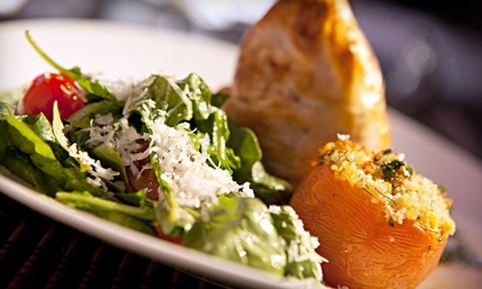 Myth Taverna & Lounge - Downtown San Jose: Prix Fixe Greek Meal with Cocktails for Two or Four at Myth Taverna & Lounge (Up to 61% Off)