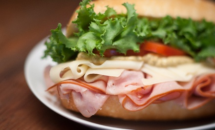 $17 for Four Groupons, Each Good for $8 Worth of Sandwiches at Pickle Jar Deli ($32 Total Value)