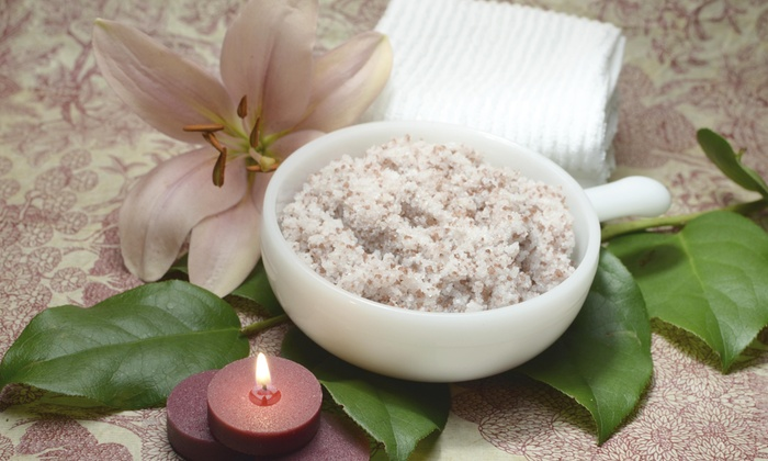 Happiness Day Spa - Gardiner: 40-Minute Salt Body Scrub from Happiness Day Spa (50% Off)