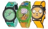 Adventure Time Watches: Adventure Time Watches for Men, Women, and Children. Multiple Styles Available. Free Returns.