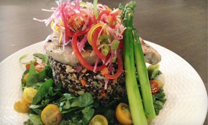 green2go - Brea-Olinda: Organic Lunch or Dinner for Two or Four at green2go (Up to 60% Off)