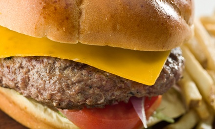 $11 for Cheeseburgers, Fries, and Drinks for Two at Harden's Hamburgers ($19 Value)
