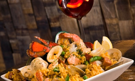 Puerto Rican Dinner for Two for Four at Sazon (Up to 48% Off)