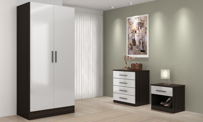 Three-Piece Bedroom Set from £156 (60% OFF)