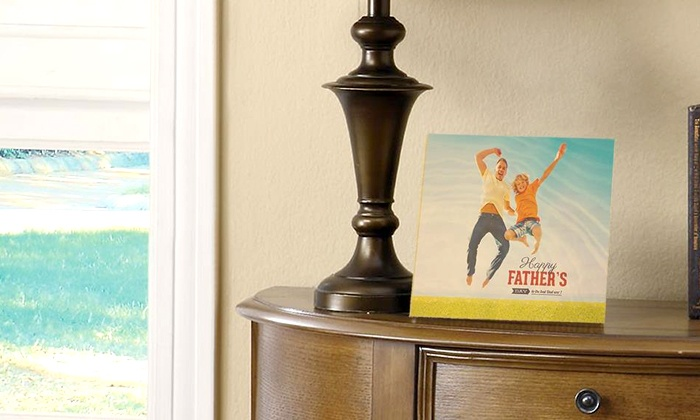 "Photo Wood Shop: 8""x10"", 11""x14"", or 16""x20"" Personalized Photo Print on Wood from Photo Wood Shop (Up to 56% Off)"