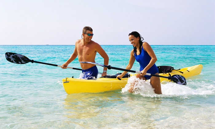 Huntington Harbor Boat Rentals - Huntington harbor boat rentals: Two-Hour Single- or Double-Kayak Rental from Huntington Harbor Boat Rentals (50% Off)