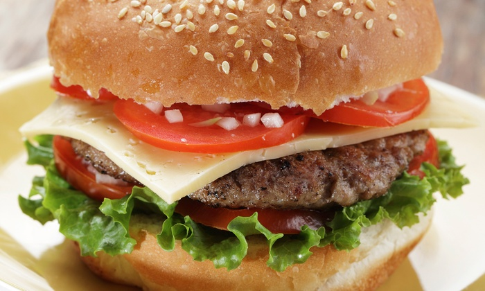 eagleBOLTbar - Downtown East: Burgers and American Pub Fare at eagleBOLTbar (Up to 50% Off). Three Options Available.