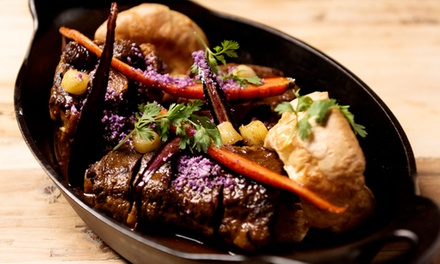 South African Food for Dinner or Lunch at Springbok (Up to 40% Off)