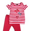 Baby Ziggles Toddler Top with Capri Leggings (Size 4T)