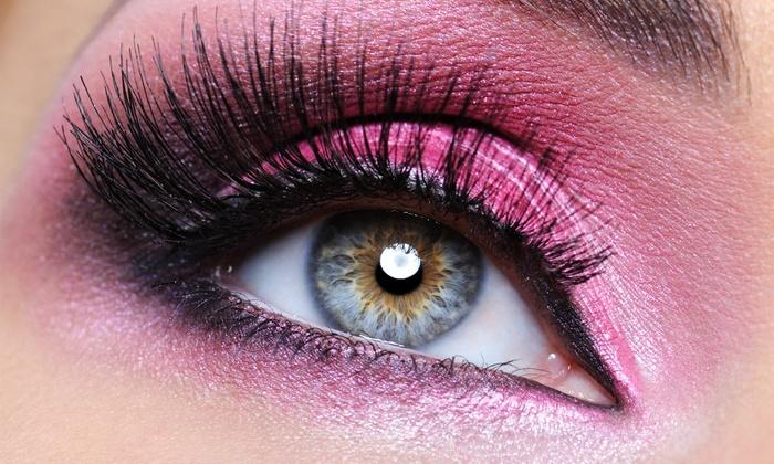 Utopia Lash & Makeup Design - Kirkland: Mascara-Look Silk Mink or Volume 4D-Look Eyelash Extensions at Utopia Lash & Makeup Design (Up to 61% Off)