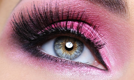 Mascara-Look, Mink Mascara-Look, or 4D-Look Eyelash Extensions at Utopia Lash & Makeup Design (Up to 63%Off)