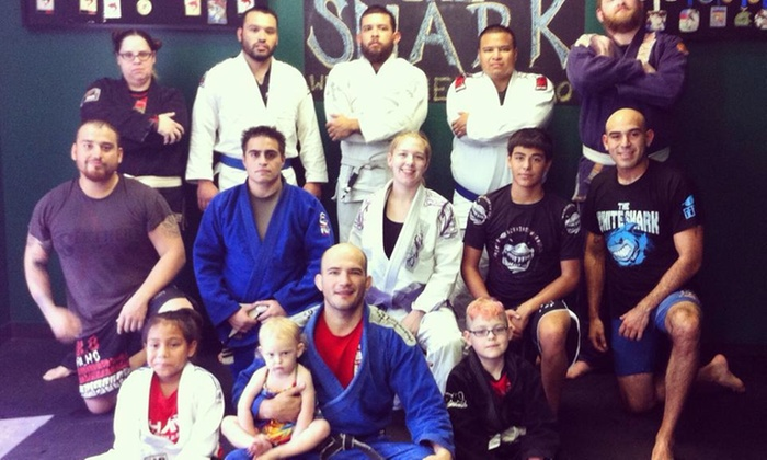Team Shark Bjj Dpbjj - Castle Hills: Four Weeks of Unlimited Brazilian Jiu-Jitsu Classes at Team Shark BJJ DPBJJ (58% Off)
