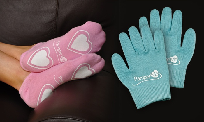 Moisturizing Gel Gloves and Booties: Moisturizing Gel Gloves and Booties Set. Multiple Colors Available.