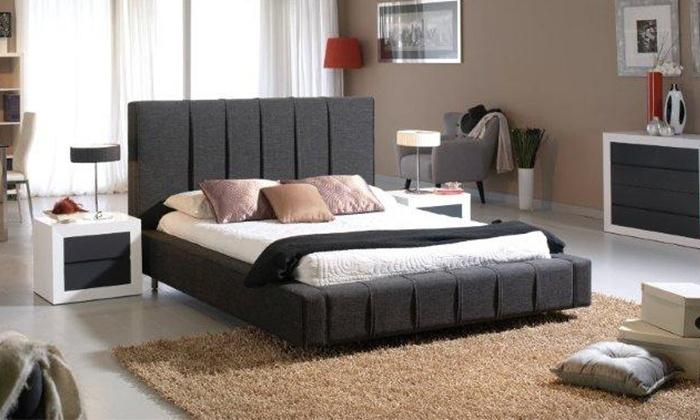Estructura de cama somier groupon goods - Estructuras de camas ...