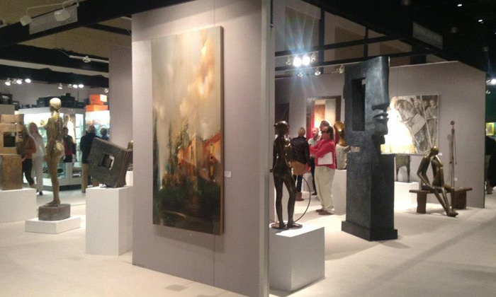 Palm Beach Jewelry, Art & Antique Show - Palm Beach County Convention Center: Admission for One, Two, or Four to Palm Beach Jewelry, Art & Antique Show (50% Off)