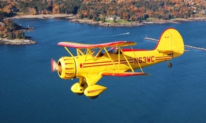 $89 For An Open-air Biplane Ride From Biplane Rides Over Atlanta ($175 Value)