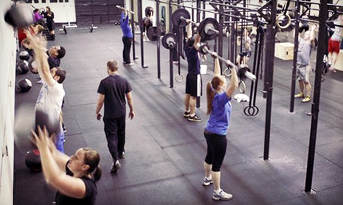 Crossfit Maximus - Multiple Locations: $99 for Six Weeks of Boot-Camp or CrossFit Academy Classes, Body Analysis, and Massage at CrossFit Maximus ($405 Value)