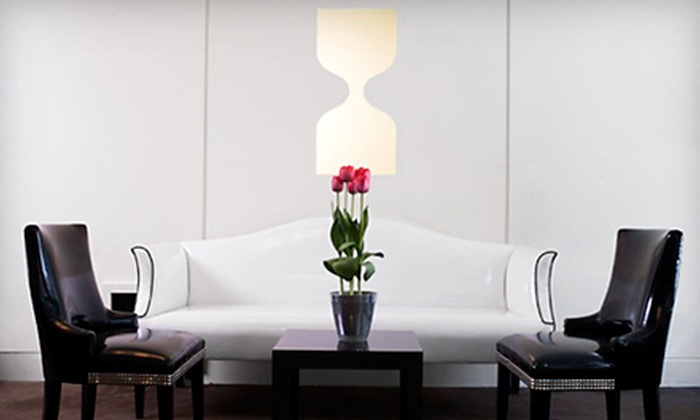 Inc Lounge at The Time Hotel - Theater District - Times Square: $29 for Drinks and Snacks for Four at Inc Lounge at The Time Hotel (Up to $64 Value)
