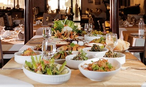 Al Qasr Restaurant: Lebanese Set Lunch Menu For Two or Four from AED 169 at Al Qasr Restaurant (Up to 53% Off)