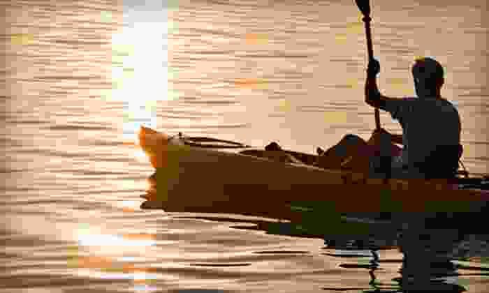 South Beach Kayak - Bayshore: Two-Hour Single or Tandem Kayak Rental at South Beach Kayak (Up to 52% Off)