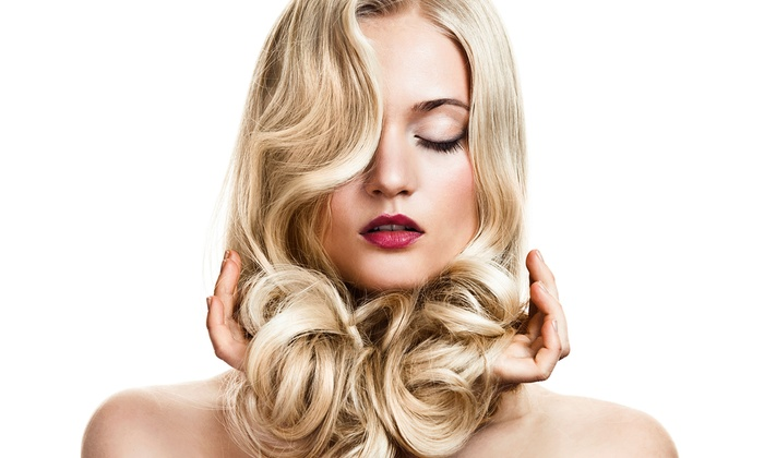 Shear Delight by Jess - Grogan's Mill: Haircut and Conditioning Treatment with Optional Partial or Full Highlights at Shear Delight by Jess (Up to 51% Off)